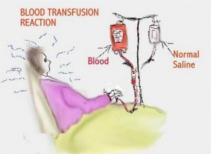 blood transfusion complications
