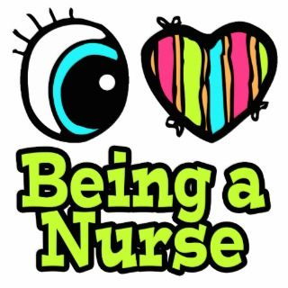 i love being a nurse
