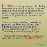 nurses saves lives