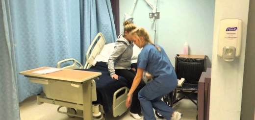 Assisting Patient From Bed to Chair