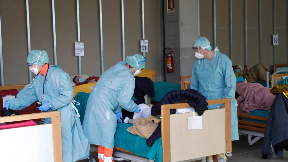 Spain now has the third highest number of Covid-19 cases in the world. (Photo: AP)