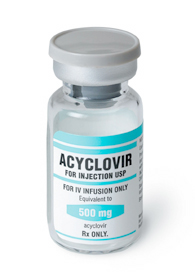 acyclovir – drug study - nursing crib, Skeleton