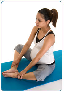 Tailor sitting Exercises During Pregnancy