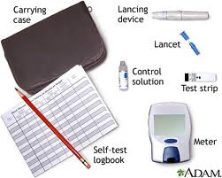 equipements for blood glucose test Blood Glucose Monitoring