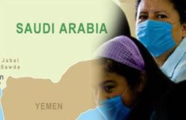 nurse in saudi