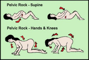 pelvicrockexercise 300x205 Exercises During Pregnancy
