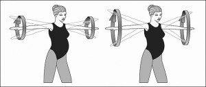shoulder circling 300x127 Exercises During Pregnancy