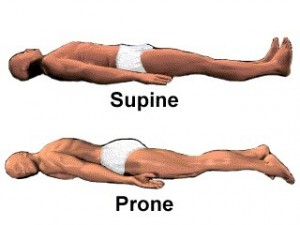 supine and prone patient position 300x225 Positioning Patients in Bed