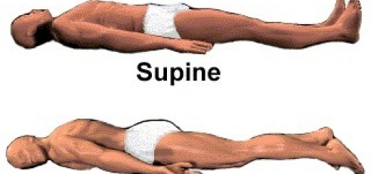 supine and prone patient position